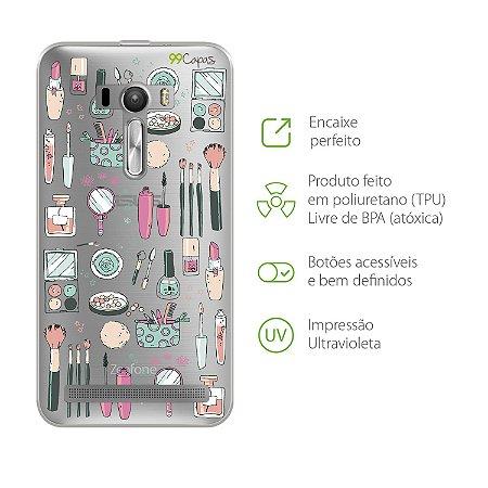 Capa para Asus Zenfone Selfie - Make UP