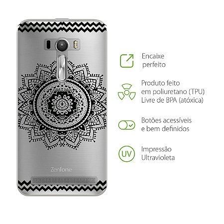 Capa para Asus Zenfone Selfie - Mandala Preta