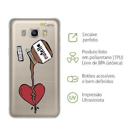 Capa para Samsung Galaxy J7 - Nutella