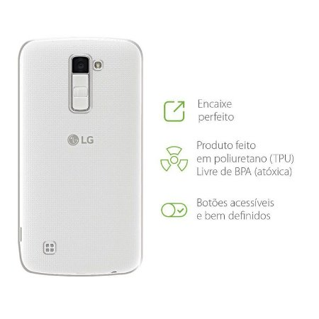 Capa Transparente para LG K10 Power