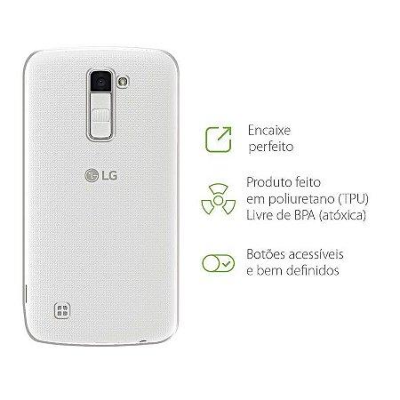 Capa Transparente para LG K10 Power