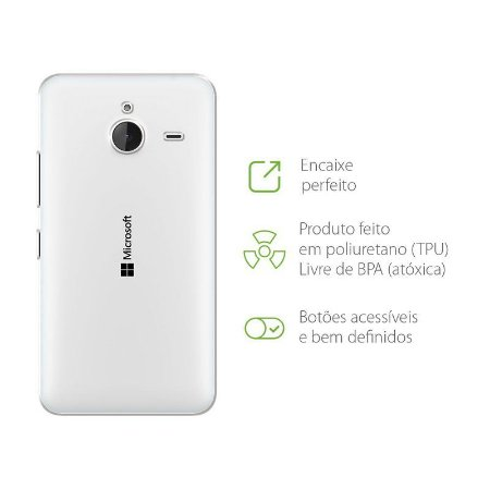 Capa Transparente para Microsoft Lumia 532