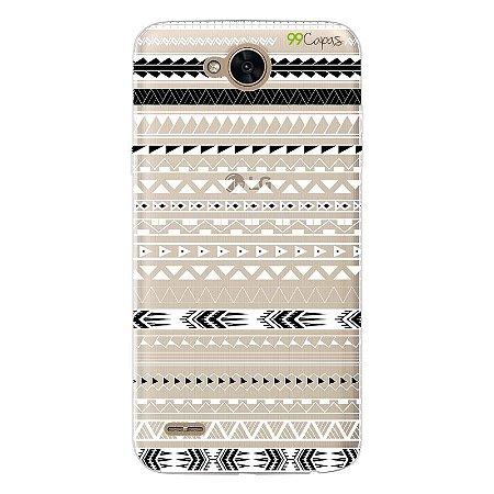 Capa para LG K10 Power - Maori Branca