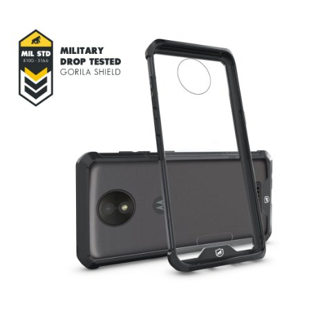 Capa Ultra Slim Air Preta para Moto C Plus - GORILA SHIELD