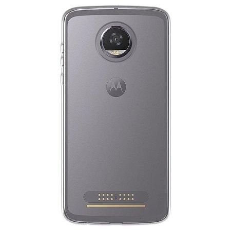 Capa para Motorola Moto Z2 Play - Transparente