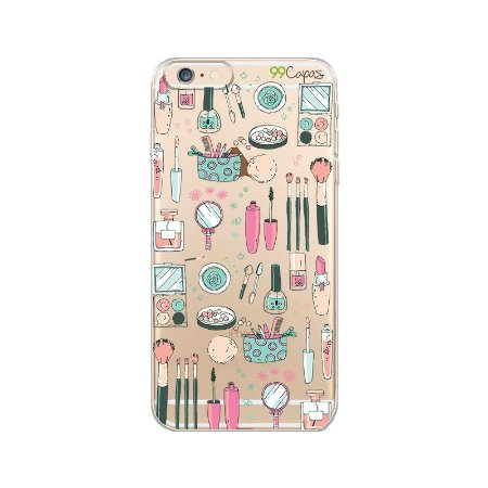 Capa para iPhone 6/6S - Make Up