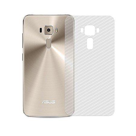 Película Traseira de Fibra de Carbono Transparente para Asus Zenfone 3 ZE520KL - 99capas