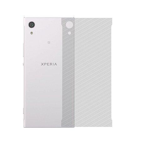 Película de Fibra de Carbono Traseira Transparente para - Sony Xperia XA1 - 99capas
