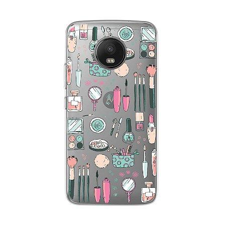 Capa para Moto G5S - Make Up