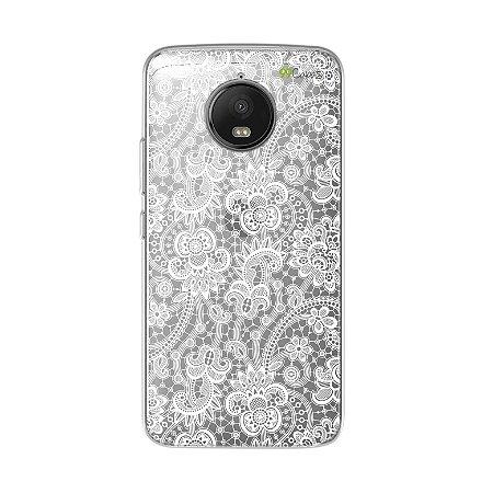 Capa para Moto G5S - Rendada