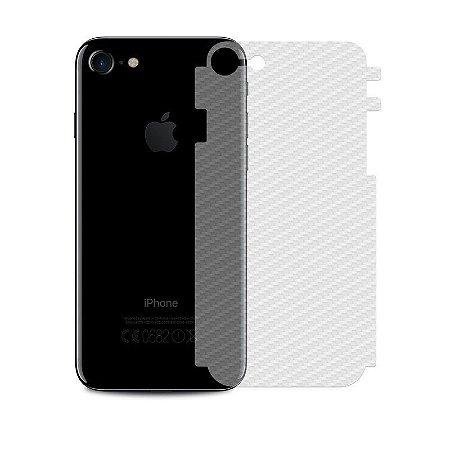 Película Traseira de Fibra de Carbono Transparente para Apple IPhone 8 - 99capas