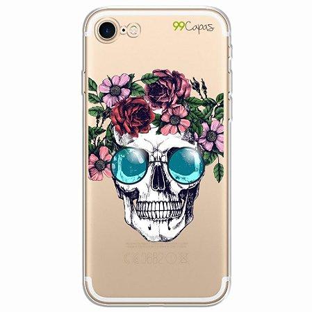 Capa para Iphone 8 Plus - Caveira