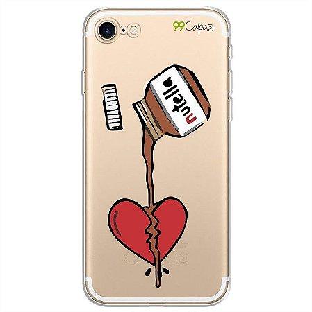 Capa para iPhone 8 Plus - Nutella