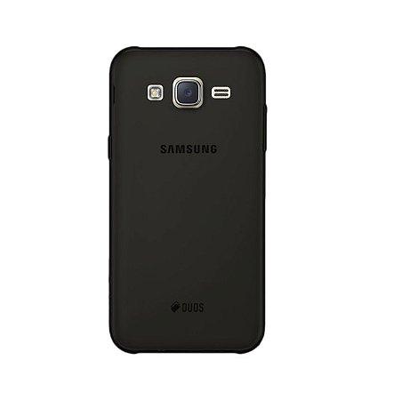 Capa Fumê para Galaxy J7 Neo {Semi-Transparente}
