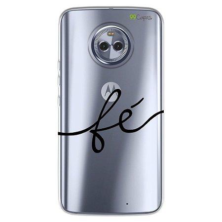 Capa para Motorola Moto X4 - Fé