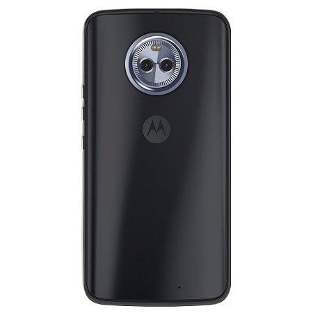 Capa Fumê para Moto X4 - {Semi-transparente}