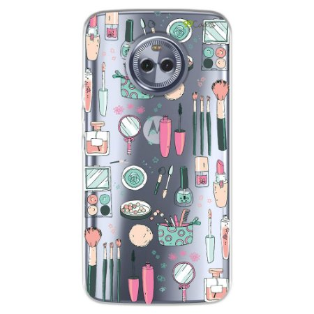 Capa para Motorola Moto X4 - Make up