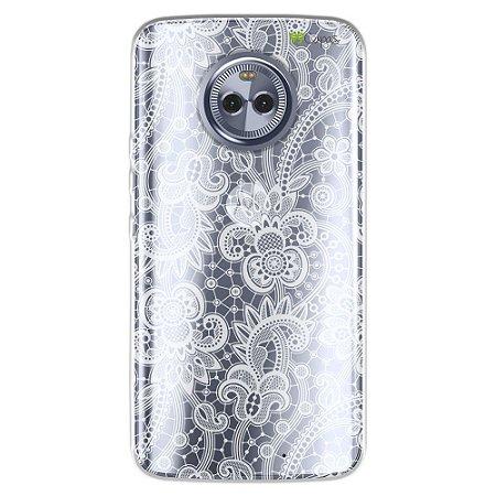 Capa para Motorola Moto X4 - Rendada