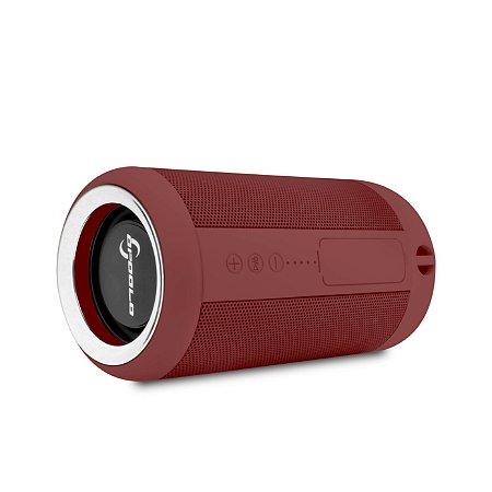 Caixinha de som Bluetooth resistente a água ipx5 - Monstrinha Vermelha