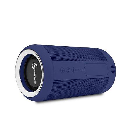 Caixinha de som Bluetooth resistente a água ipx5 - Monstrinha Azul