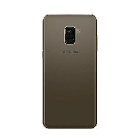 Capa para Samsung Galaxy A8 - Fumê - (Semi transparente)