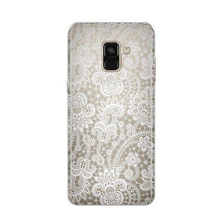 Capa para Samsung Galaxy A8 - Rendada
