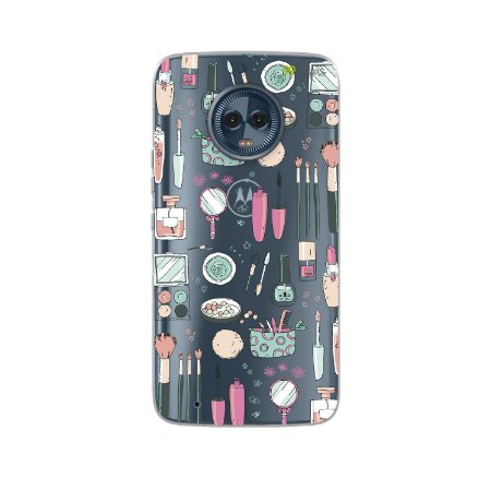 Capa para Moto G6 Plus - Make Up