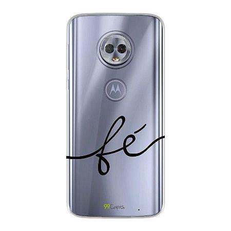 Capa para Moto G6 Play - Fé