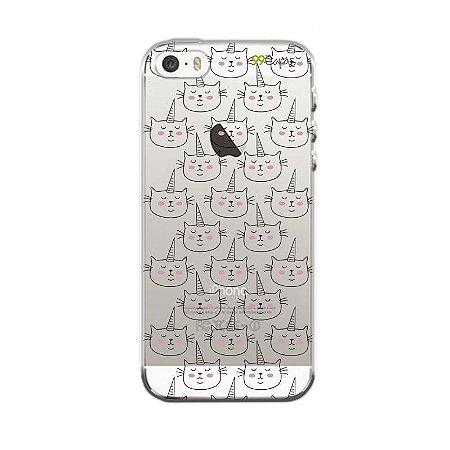 Capa para Apple iPhone 5 / 5S / SE - Catcorn