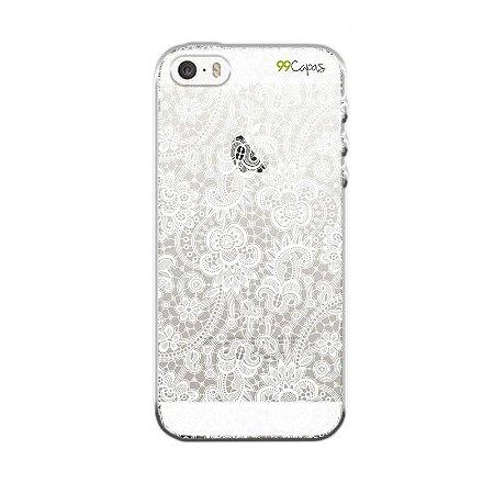 Capa para Apple iPhone 5 / 5S / SE - Rendada