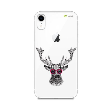 Capa para iPhone XR - Alce Hipster