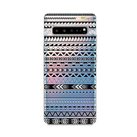 Capa para Galaxy S10 - Maori Branca