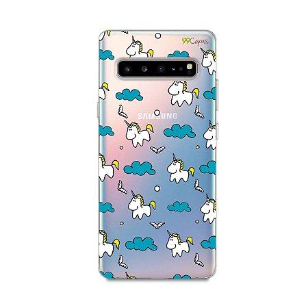 Capa para Galaxy S10 - Unicórnio