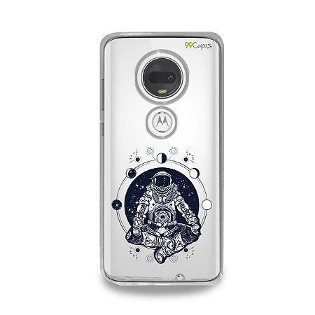 Capa para Moto G7 Plus - Astronauta