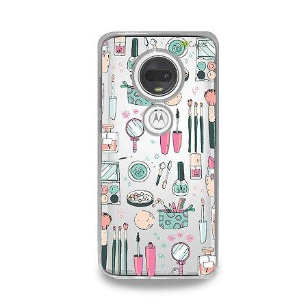 Capa para Moto G7 Plus - Make Up
