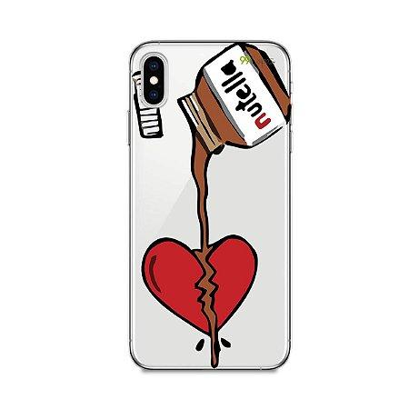 Capa para iPhone XS Max - Nutella
