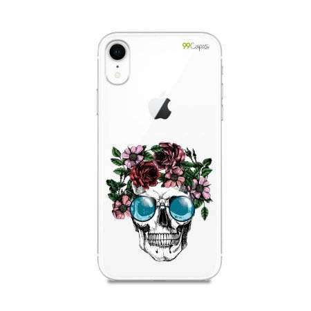 Capa para iPhone XR - Caveira