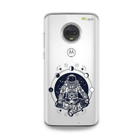 Capa para Moto G7 - Astronauta
