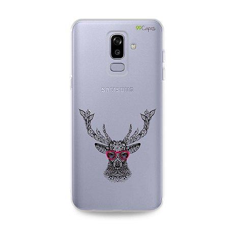 Capa para Galaxy J8 - Alce Hipster