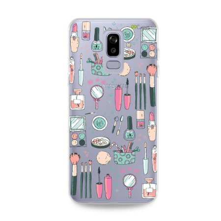 Capa para Galaxy J8 - Make Up