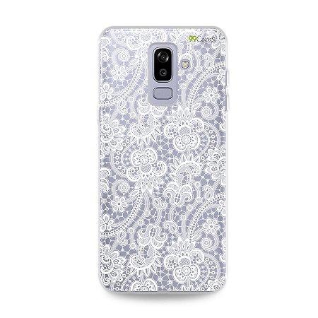Capa para Galaxy J8 - Rendada