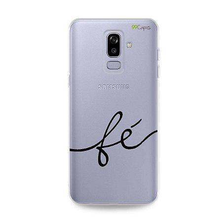 Capa para Galaxy J8 - Fé