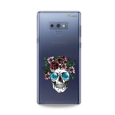 Capa para Galaxy Note 9 - Caveira