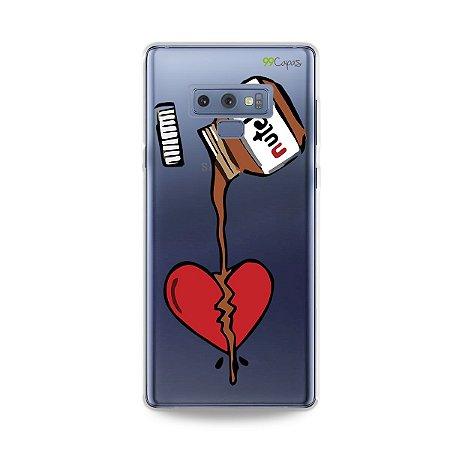 Capa para Galaxy Note 9 - Nutella