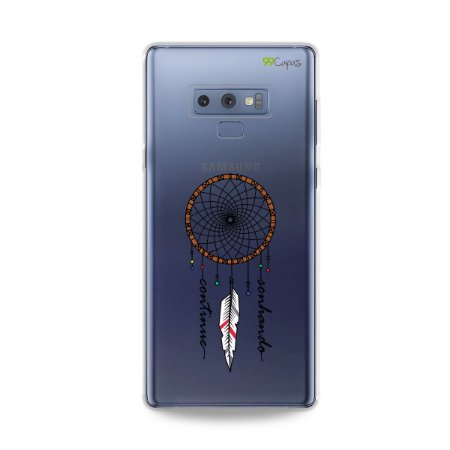 Capa para Galaxy Note 9 - Continue Sonhando