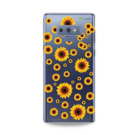 Capa para Galaxy Note 9 - Girassóis