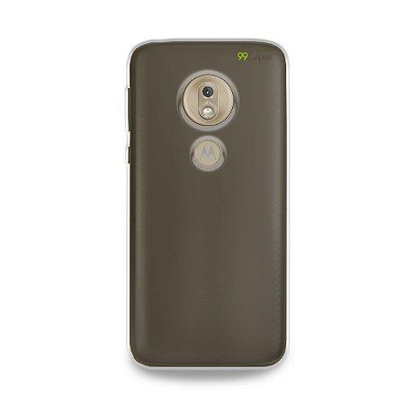Capa Fumê para Moto G7 Play {Semi-transparente}
