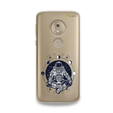 Capa para Moto G7 Play - Astronauta