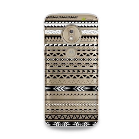 Capa para Moto G7 Play - Maori Branca