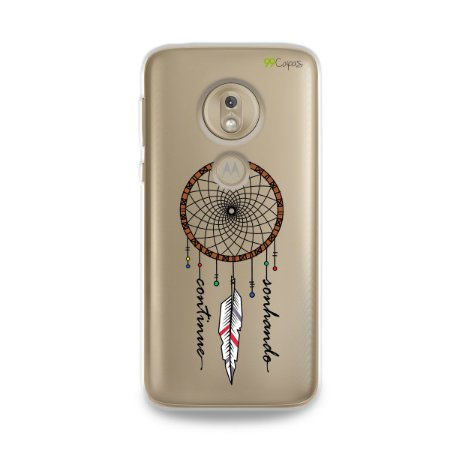 Capa para Moto G7 Play - Continue Sonhando